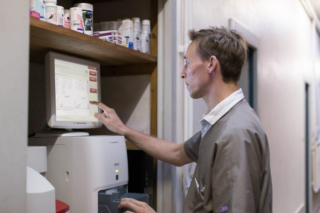 La Clinique Urbiveto possède des équipemens de dernière technologie.